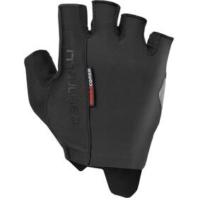 Castelli Rosso Corsa Espresso Gloves Men black
